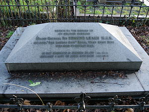 Edmund Leach (British Army officer) - Brompton Cemetery, London