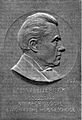 Bronze plaque of Martinus Willem Beijerinck (1851-1931) Wellcome L0000875.jpg