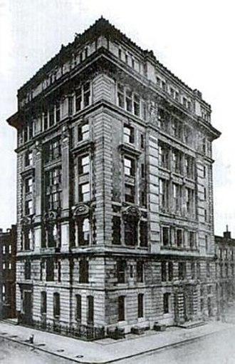 University Hospital of Brooklyn at Long Island College Hospital - Image: Brooklyn, Polhemus Bldg, 1897