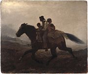 Brooklyn Museum - A Ride for Liberty -- The Fugitive Slaves - Eastman Johnson - overall
