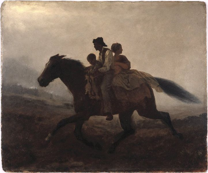 File:Brooklyn Museum - A Ride for Liberty -- The Fugitive Slaves - Eastman Johnson - overall.jpg