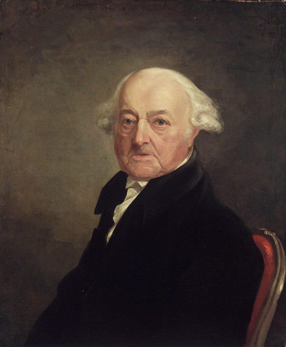 Brooklyn Museum - Portrait of John Adams - Samuel Finley Breese Morse - overall