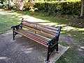 Brooklyn Park Bench - geograph.org.uk - 1539758.jpg