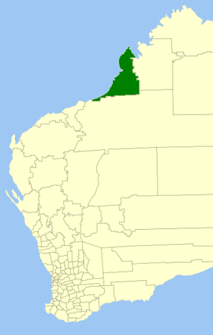 Shire of Broome - Location in Western Australia