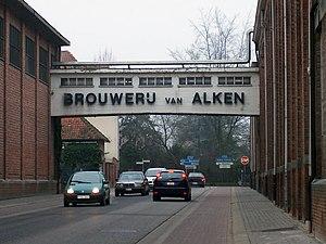 Alken, Belgium - Image: Brouwerijcristalalke n