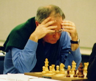 Walter Browne - Walter Browne at the 2002 U.S. Chess championships in Seattle, Washington