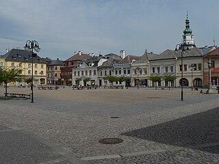 Bruntál Town in Czech Republic