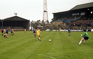 Carlisle United F.C. -  Carlisle missed out on the Third Division title in 81/82 by goal difference alone.