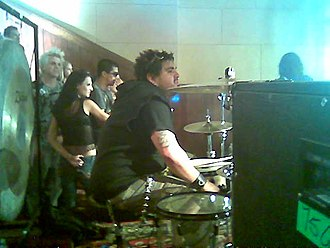 Papa Roach - Drummer Dave Buckner, who was in the band from 1993 to 2007.