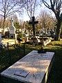 Bucuresti, Romania. Cimitirul Bellu Catolic. Mormanrtul lui Ludovic Mrazec.jpg