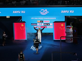 Xu Jiayu Chinese swimmer