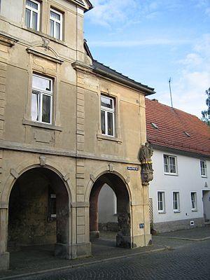 Ostritz - Image: Buergerhaus ostritz