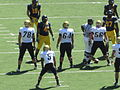 Buffaloes on offense at Colorado at Cal 2010-09-11 41.JPG