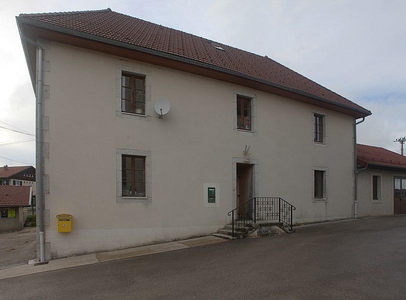 Mairie de Bugny (Doubs).