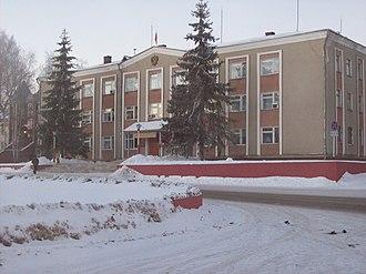 Vorotynsky District - Vorotynsky District Administration building in Vorotynets