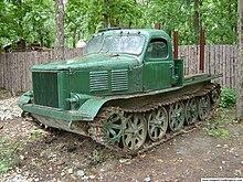 Kharkov Tractor Plant 220px-Bulgarian_artillery_tractor
