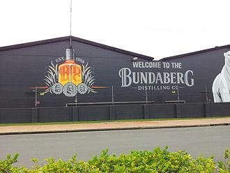 Bundaberg Rum - Bundaberg Rum Factory, Circa 2014.