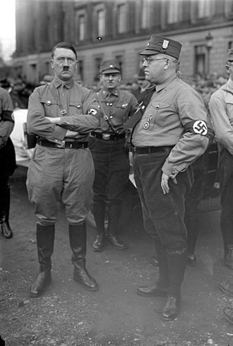 Free State of Brunswick - Hitler in Braunschweig (with Minister Franzen), 1931