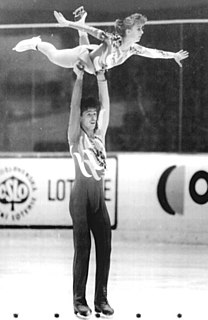 Mandy Wötzel German pair skater