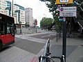 Bus leaving Vauxhall Bus Station - geograph.org.uk - 810517.jpg