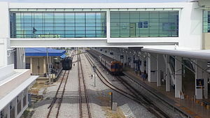 Butterworth railway station - Image: Butterworth New 5