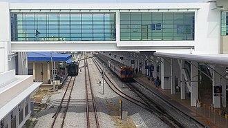 Butterworth railway station - Image: Butterworth New 5