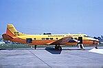 CF-XOK Saunders ST-27 (Heron cvsn) Saunders Aircraft LGW 14MAY70.jpg