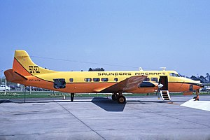 Saunders ST-27 - Saunders ST-27 at London Gatwick Airport (May 1970)