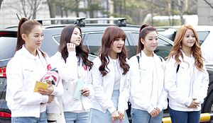 CLC (band) - CLC in March 2015