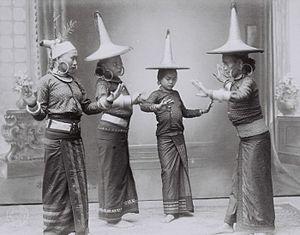 South Nias Regency - Female dancers