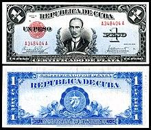 República De Cuba One Silver Peso 1936