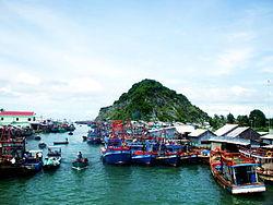 Skyline of Kiên Giang Province