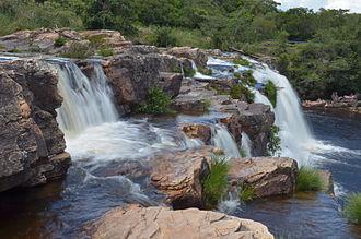 Serra do Cipó National Park - Image: Cachoeira Grande Serra do Cipó Minas Gerais