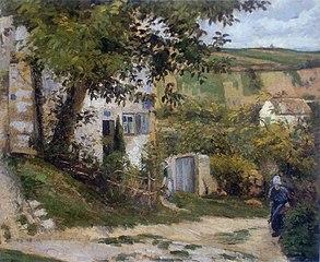 Rue de la Côte-du-Jalet, the 'Rondest House', Pontoise