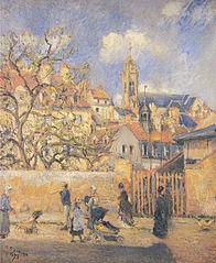 The Parc-aux-Charrettes, Pontoise