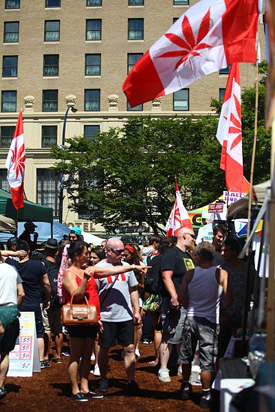 File:Canada - Cannabis Day, Marijuana Party 2014 @ Art Gallery (14370054340).jpg