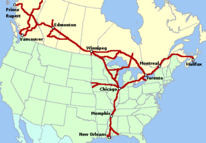 wiki list canadian national railways companies