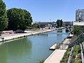 Canal St Denis vu depuis Pont Stains Aubervilliers 3.jpg
