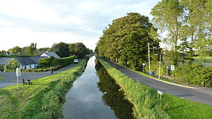 Naas - Canal from Abbey Bridge
