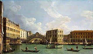 A View of the Rialto, Venice
