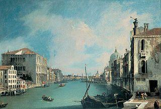 Vue du Grand Canal depuis le campo San Vio