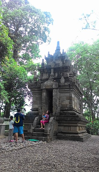 Sunda Kingdom - The 8th century Cangkuang temple, cultural heritage of Galuh Kingdom