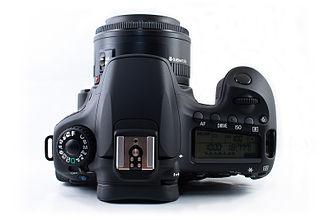 Canon EOS 60D - Image: Canon 60D Top View