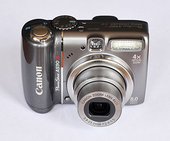 English: Canon PowerShot A590 IS