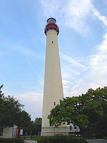 Cape May Lighthouse in Cape May, New Jersey, USA.jpg