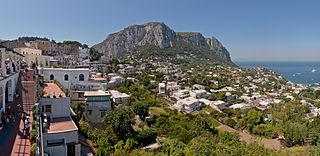 Capri island near Naples