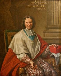 Henri-Pons de Thiard de Bissy Roman Catholic priest, bishop and cardinal