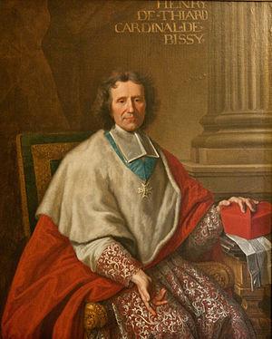 Point de France - Cardinal Henri-Pons de Thiard de Bissy