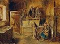 Carl Schindler - In der Geschirrkammer - 2058 - Österreichische Galerie Belvedere.jpg