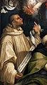 Carlo portelli, disputa sull'immacolata concezione, 1555 (fi, s. croce) 06 Bernardo di Chiaravalle.jpg